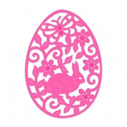Sue Dix Designs - Filigree Bunny Easter Egg Sweet Dixie Die Summer Collection
