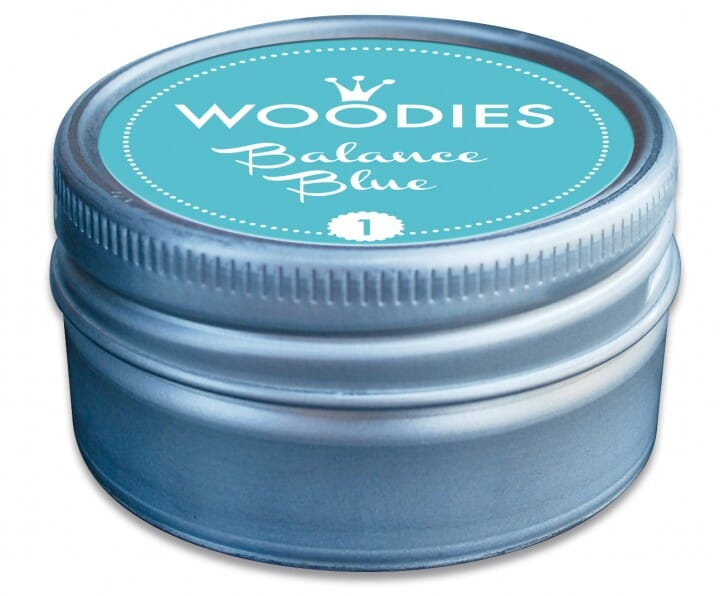 Stamps 4 U Woodies stamp pad Balance blue