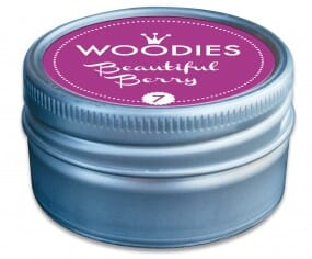Woodies stamp pad Beautiful Berry