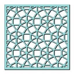 Kath Halstead Designs - Sweet Dixie Circular Mosaic Stencil