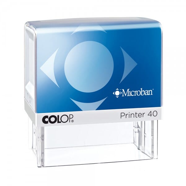 Colop Printer 40 Microban 59 x 23 mm - 5 lines