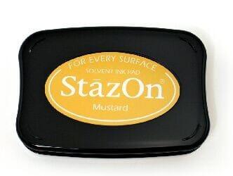 Tsukineko - Mustard StazOn Pad