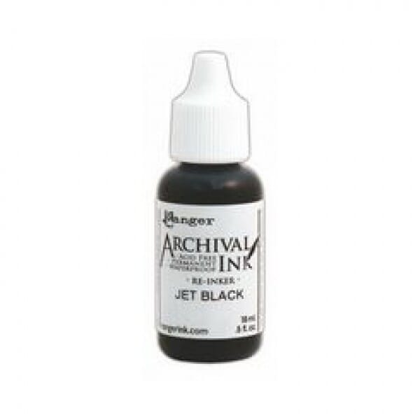 Ranger Ink - Jet Black - Archival Re-inker