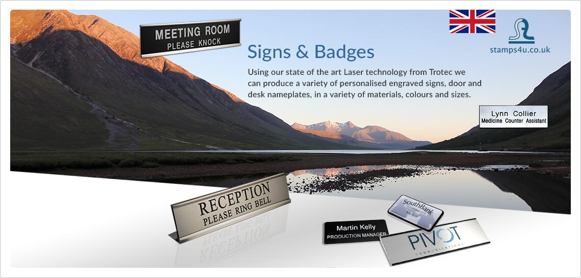 Signs & badges