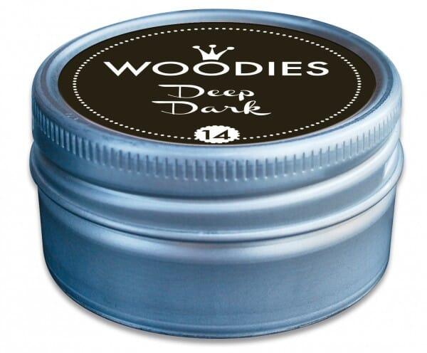 Woodies stamp pad Deep Dark
