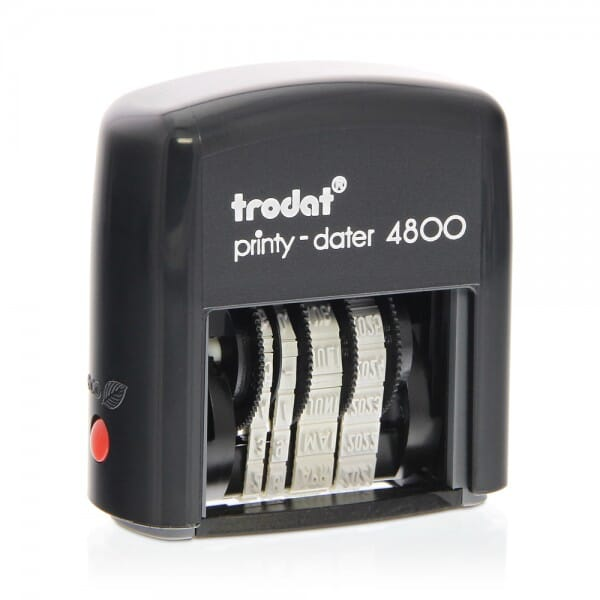 Trodat Printy 4800 Date Stamp - 3 mm