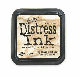 Ranger Ink - BS Antique Linen Distress Ink Pad