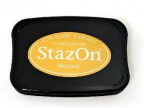 Tsukineko - Mustard Staz On Pad