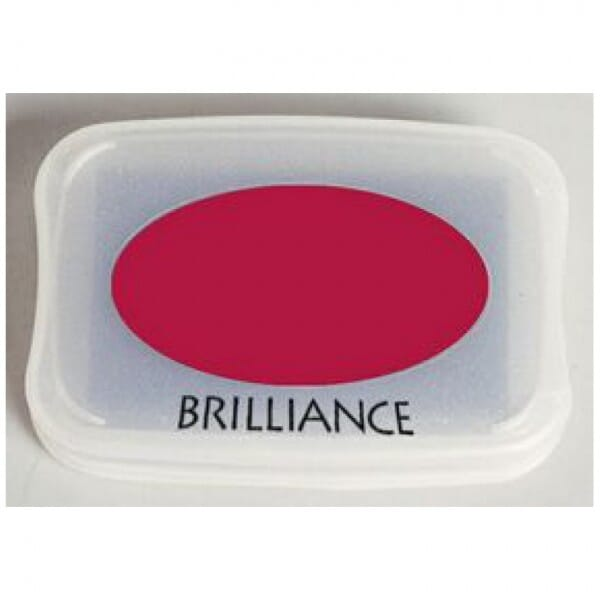 Tsukineko - Rocket Red Brilliance Pad