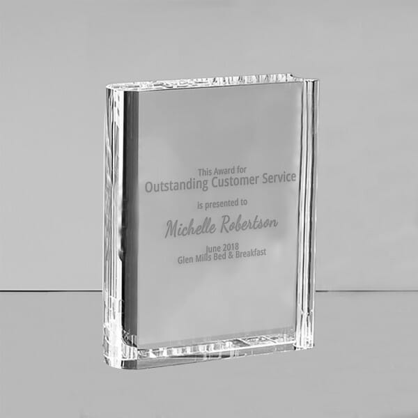 Customised Employee Recognition Book award
