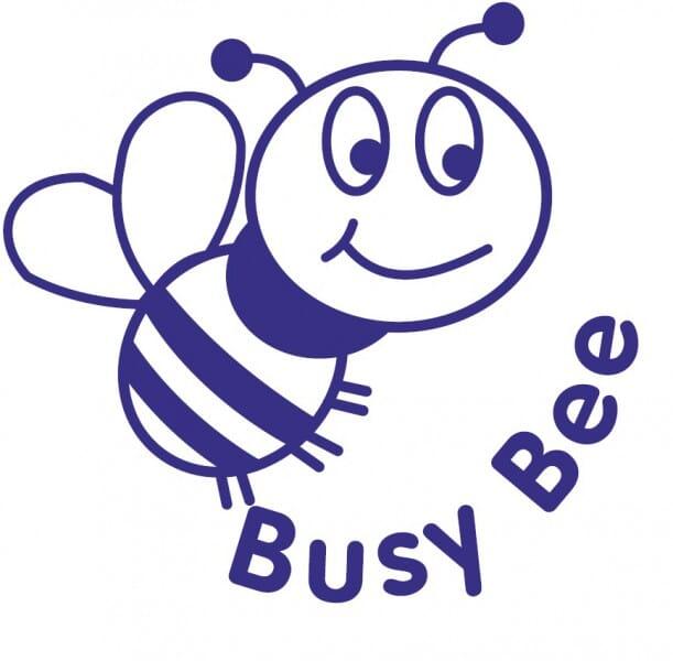 Trodat Printy 4921 - Busy Bee - blue