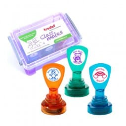 Teachers' Motivation and Reward Stamps - Box incl. French titles