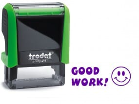 Trodat Classmate Self-Inking - Smiley 4911