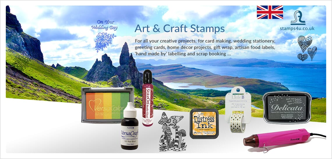 art & craft stamps