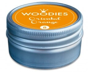 Woodies stamp pad Oriental Orange