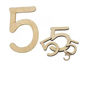 Number Craft Shapes
