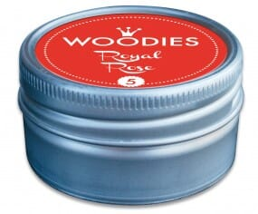 Woodies stamp pad Royal Rose