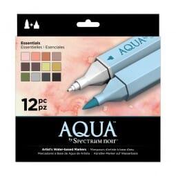 Spectrum Noir 12pk Aqua Markers Set - Essentials
