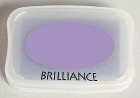Tsukineko - Pearlescent Purple Brilliance Pad