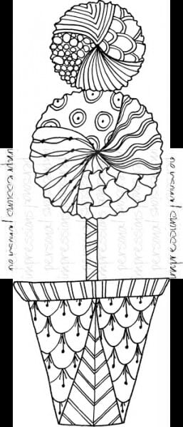 Lindsay Mason Designs - Topiary Ready To Go - Clear Stamp