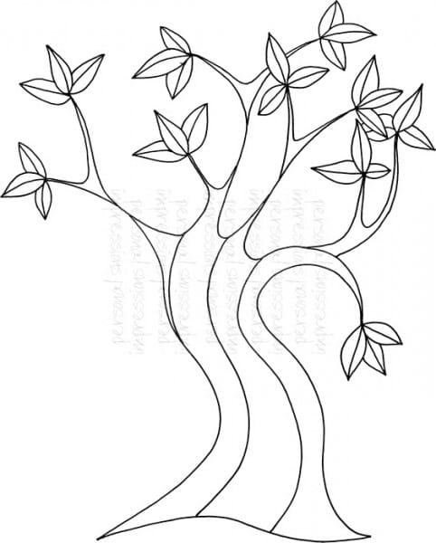 Lindsay Mason Designs - Zendoodle Tree - Clear Stamp