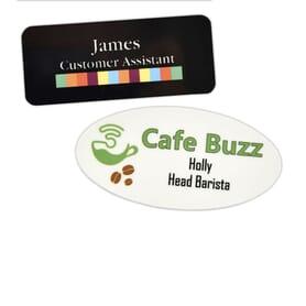 Printed Name Badges
