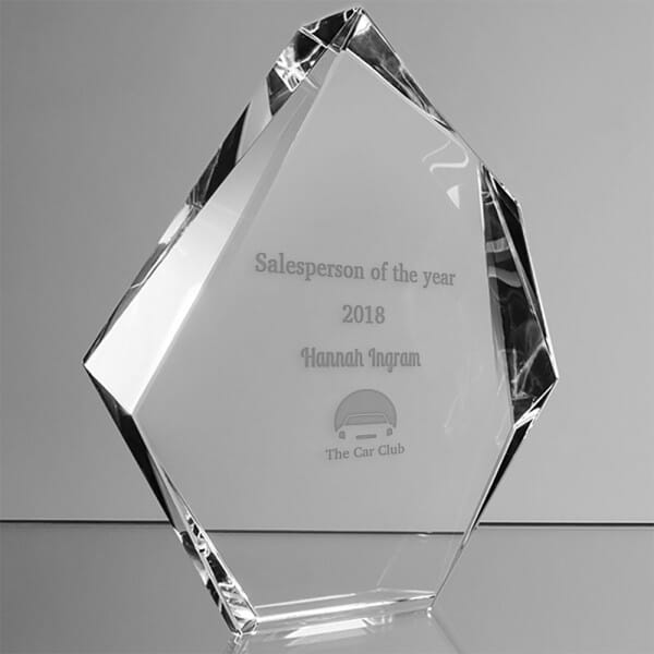 Customised Employee Recognition Award