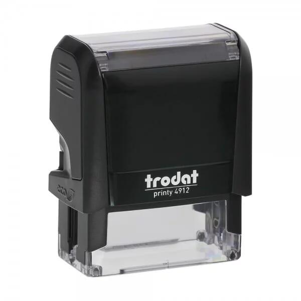 Trodat Printy 4912 address stamp ( 47 x 18 mm / 4 lines )