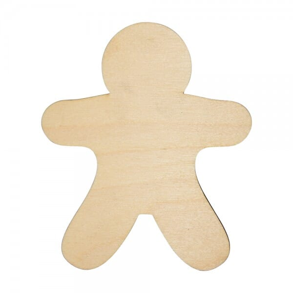 Craft Shapes - Gingerbread Man
