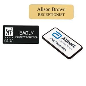 Personalised Name Badges   stamps4u co uk