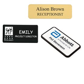 Customised Name Badges