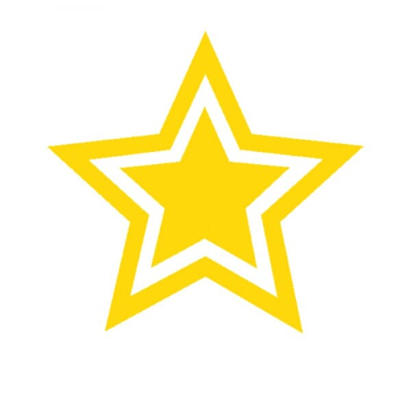 Teachers' Motivation Stamp - GOLD STAR
