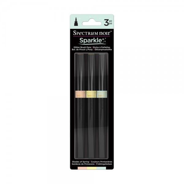 Spectrum Noir 3pk Sparkle Pens Set - Shades of Spring
