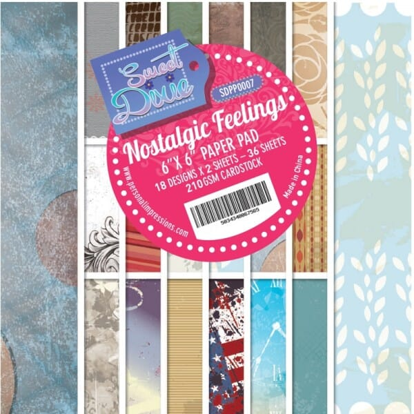 Sweet Dixie Nostalgic Feelings Cardstock Pad