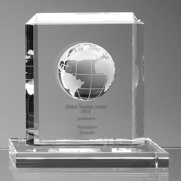 Customised Globe Award