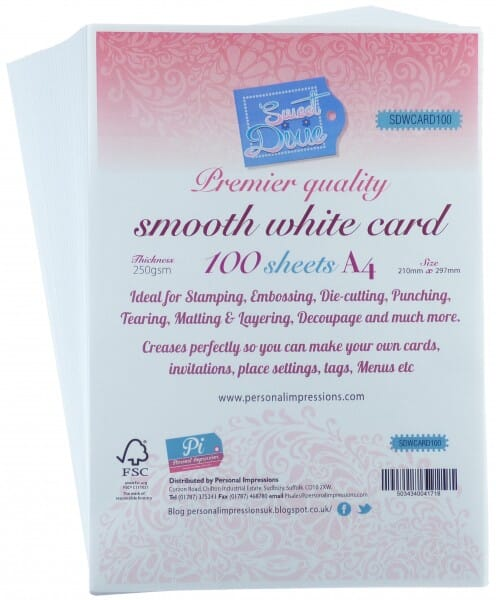 Sweet Dixie - Premier Quality Smooth White Card 100 sheets