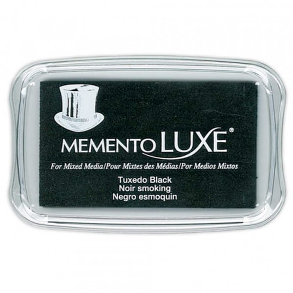 Tsukineko - Memento Luxe Tuxedo Black