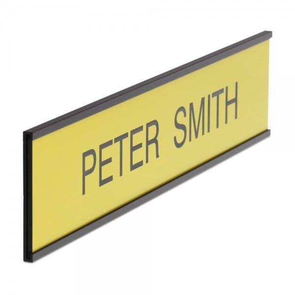 Door Nameplate in different colours - 250 x 50 mm