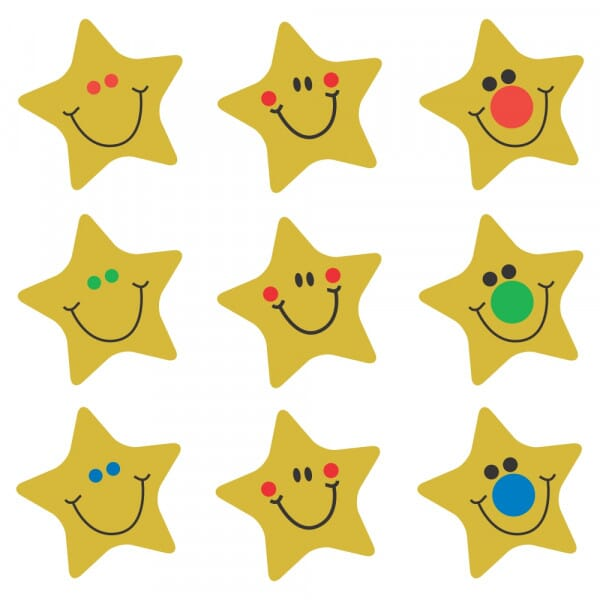 Bumper Pack Sparkling Gold Stars