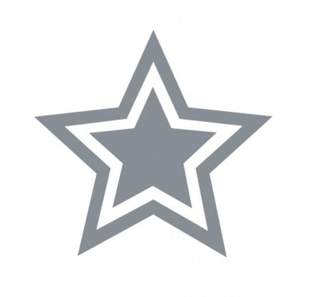 Trodat Printy 4921 - Star - silver