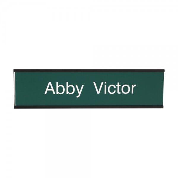 Door Nameplate in different colours - 200 x 50 mm