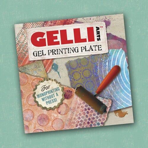 Gelli Arts - Gelli Plate 6x6x3/8 inch