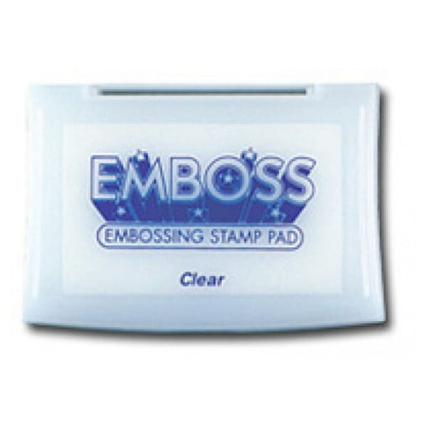 Tsukineko - BS Emboss Ink Pad for Stamps - Clear