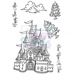 Sweet Dixie - Sweet Dixie Clear Stamp Fantasy Castle A6