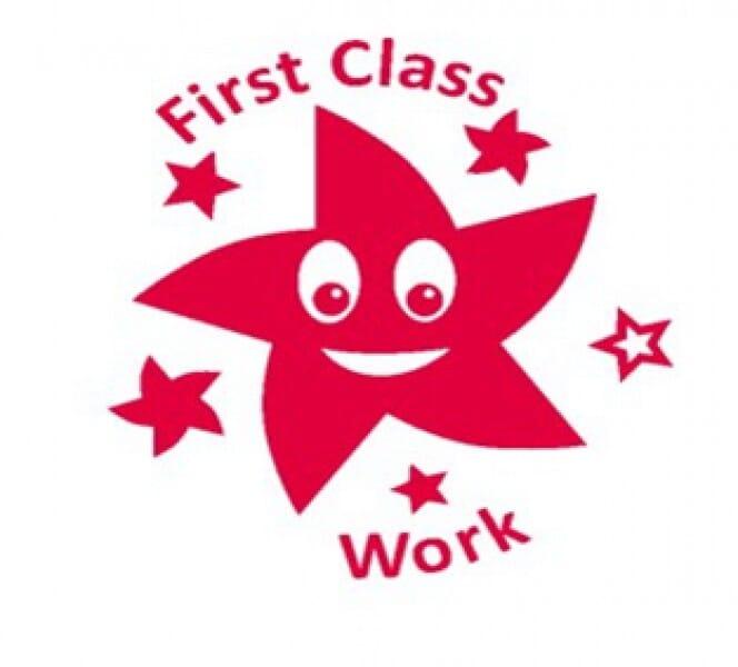 Teachers' Motivation Stamp - 1ST CLASS WORK