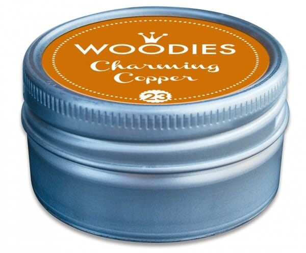 Woodies stamp pad Charming Copper