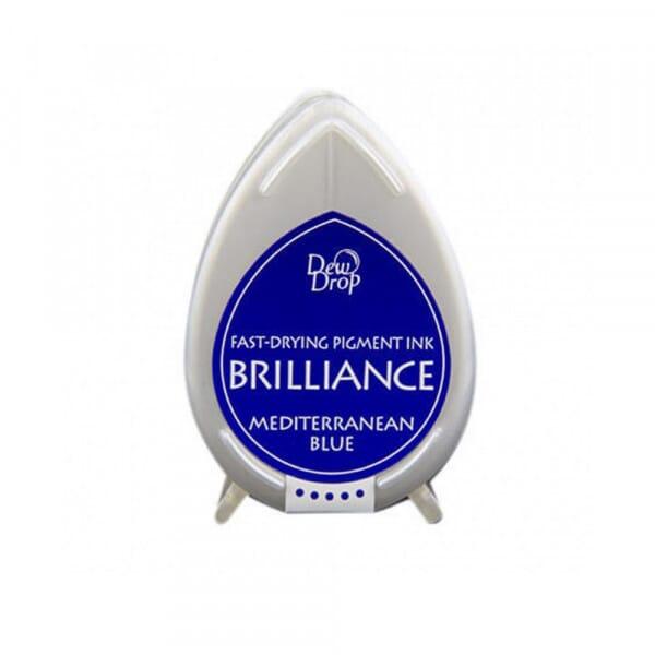 Tsukineko - Mediterranean Blue Brillance Dew Drop