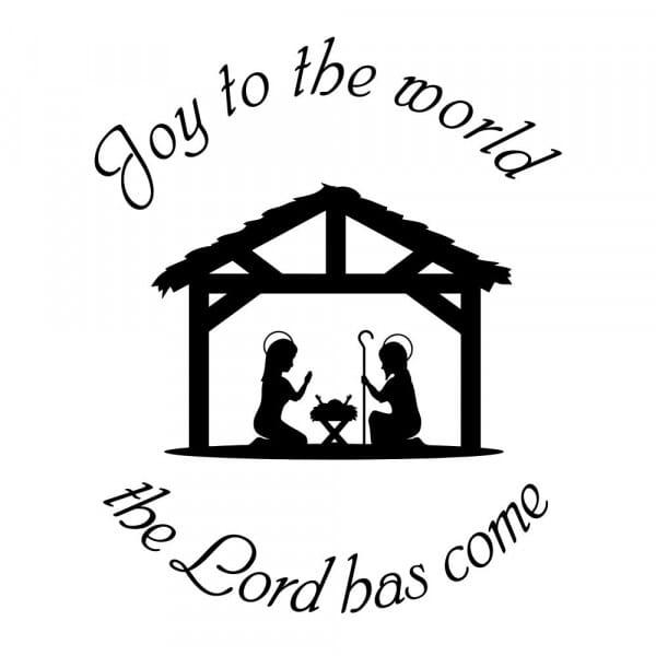 Craft Stamp - Joy to the World