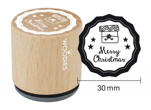 Woodies stamp Merry Christmas