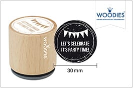 Woodies Invitation Stamps